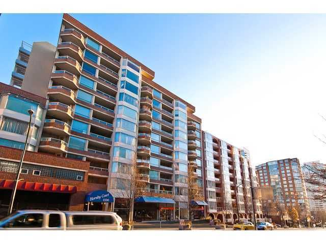 Photo 10: Photos: # 708 1330 HORNBY ST in Vancouver: Downtown VW Condo for sale (Vancouver West)  : MLS®# V946171