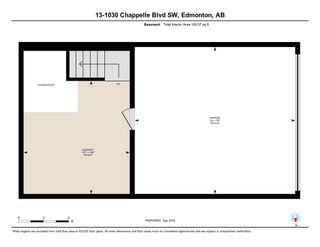 Photo 35: 13 1030 CHAPPELLE Boulevard SW in Edmonton: Zone 55 Townhouse for sale : MLS®# E4234564