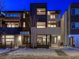 Main Photo: A 1308 Gladstone Road NW in Calgary: Hillhurst Row/Townhouse for sale : MLS®# A1096696