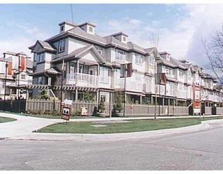 Photo 1: 6 6388 ALDER ST in Richmond: McLennan North Townhouse for sale : MLS®# V561483