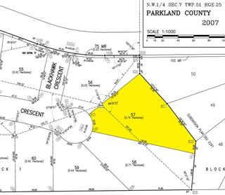 Photo 2: 57 25527 TWP RD 511 A Road: Rural Parkland County Rural Land/Vacant Lot for sale : MLS®# E4235773