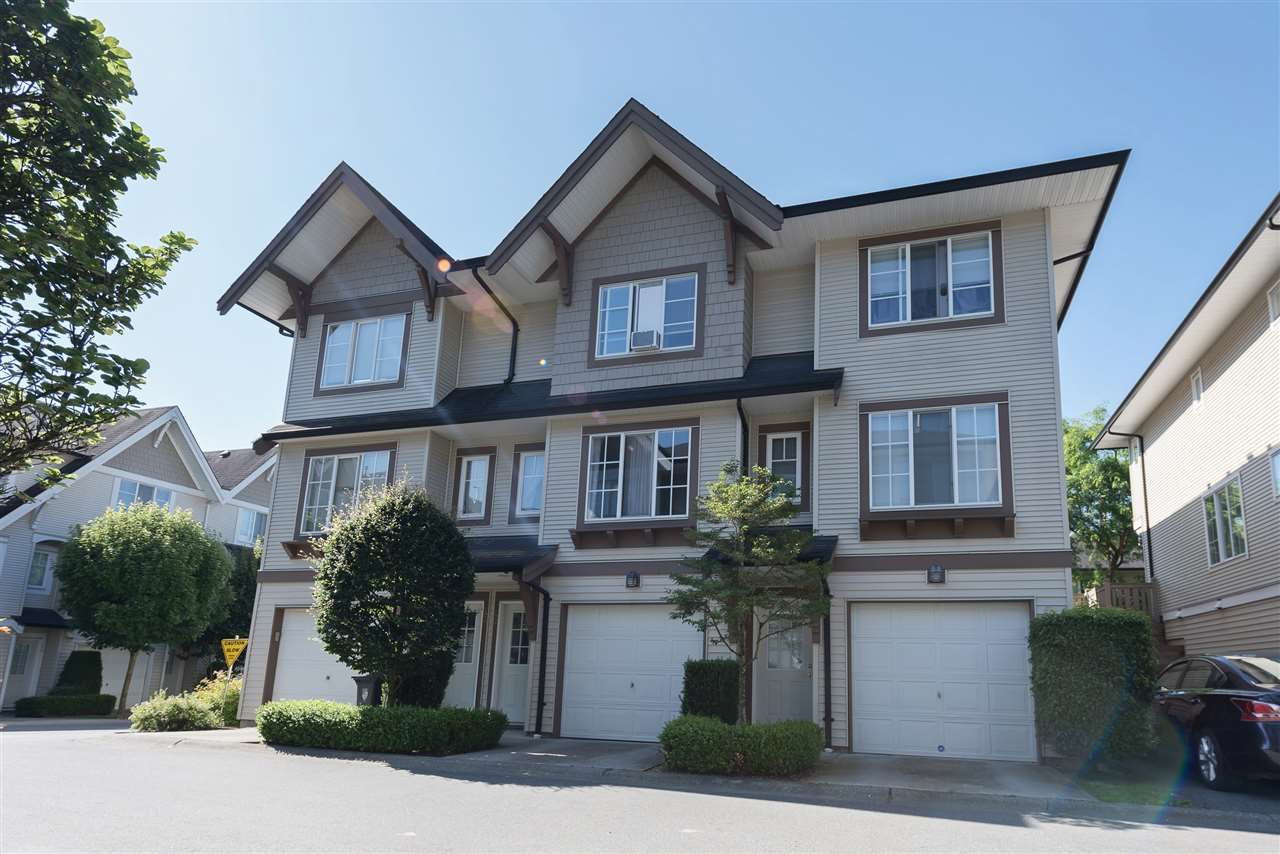 "Main Photo: 42 20540 66 Avenue in Langley: Willoughby Heights Townhouse for sale in ""Amberleigh"" : MLS®# R2185020"
