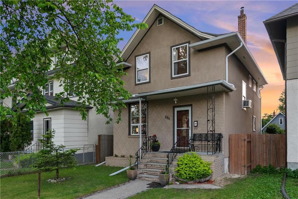 Main Photo: 614 Home Street in Winnipeg: West End Residential for sale (5A)  : MLS®# 202113701
