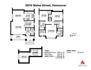 Photo 20: 5870 WALES Street in Vancouver: Killarney VE 1/2 Duplex for sale (Vancouver East)  : MLS®# R2411670