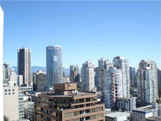 """Photo 2: 2002 811 HELMCKEN Street in Vancouver: Downtown VW Condo for sale in """"IMPERIAL TOWER"""" (Vancouver West)  : MLS®# V870608"""
