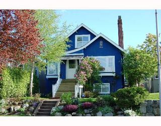 Photo 1: 146 W 20TH Avenue in Vancouver: Cambie House for sale (Vancouver West)  : MLS®# V649711
