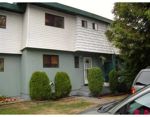 """Main Photo: 14 10880 152ND ST in Surrey: Bolivar Heights Townhouse for sale in """"Woodbridge"""" (North Surrey)  : MLS®# F2620448"""