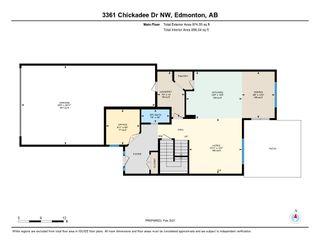 Photo 48: 3361 Chickadee Drive in Edmonton: Zone 59 House for sale : MLS®# E4228926