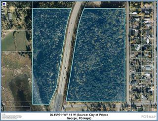 """Photo 1: DL 1599 W 16 Highway in Prince George: Lafreniere Land for sale in """"LAFRENIERE"""" (PG City South (Zone 74))  : MLS®# R2508129"""