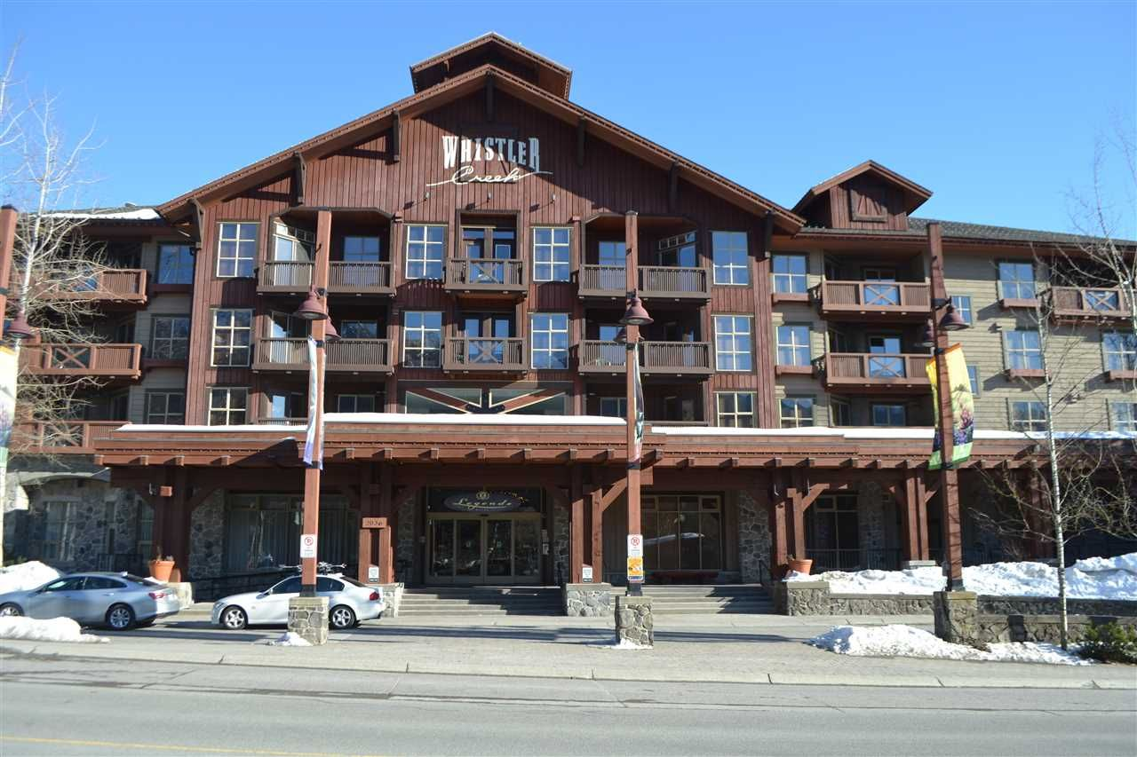 "Photo 1: Photos: 336 2036 LONDON Lane in Whistler: Whistler Creek Condo for sale in ""Legends"" : MLS®# R2501885"