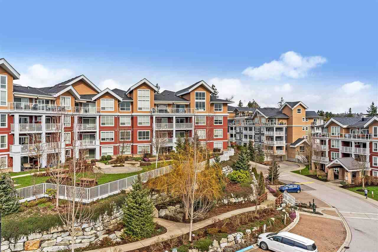 """Main Photo: 502 6440 194 Street in Surrey: Clayton Condo for sale in """"Waterstone"""" (Cloverdale)  : MLS®# R2542007"""