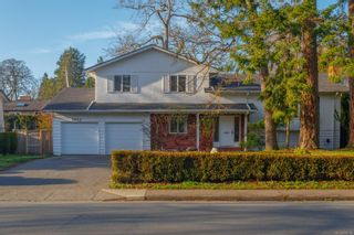 Main Photo: 2025 Cedar Hill Cross Rd in : OB Henderson House for sale (Oak Bay)  : MLS®# 870754