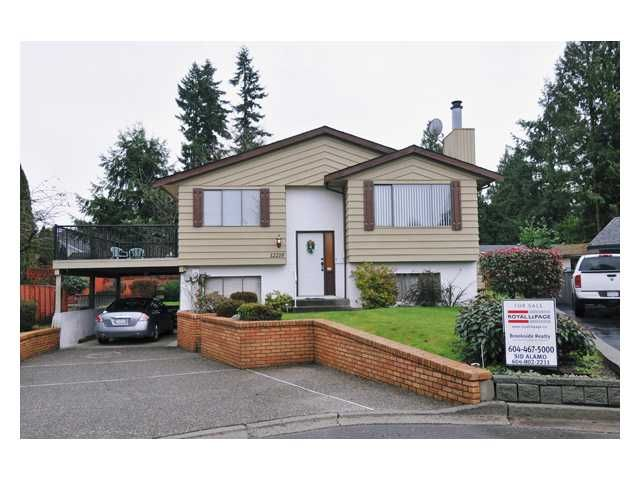 Main Photo: 12218 MCTAVISH PL in Maple Ridge: Northwest Maple Ridge House for sale : MLS®# V861258