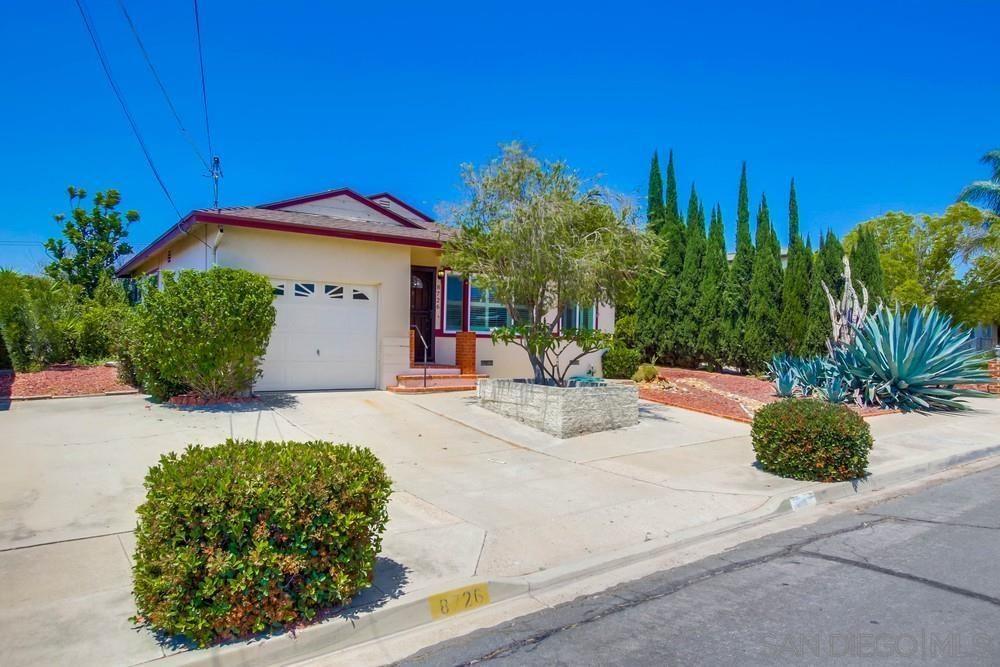 Main Photo: LA MESA House for sale : 3 bedrooms : 8726 Elden St
