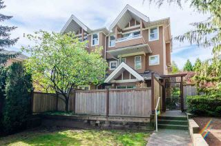 Photo 1: 6 7488 SALISBURY Avenue in Burnaby: Highgate Townhouse for sale (Burnaby South)  : MLS®# R2569684