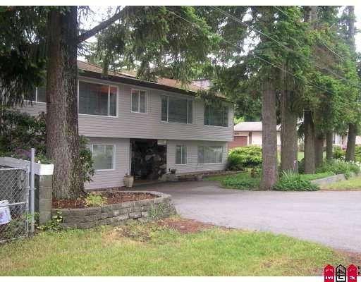 Main Photo: 19707 46TH AV in Langley: House for sale : MLS®# F2906022