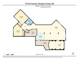 Photo 46: 115 Via Tuscano Tuscany Hills: Rural Sturgeon County House for sale : MLS®# E4220313