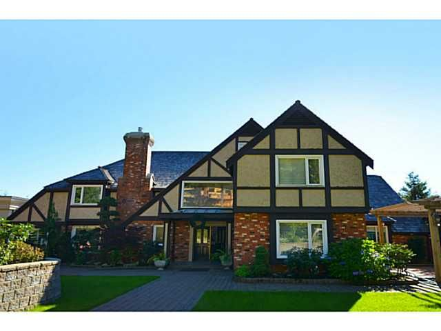 Main Photo: 1182 EYREMOUNT in West Vancouver: British Properties House for sale : MLS®#  V1037986
