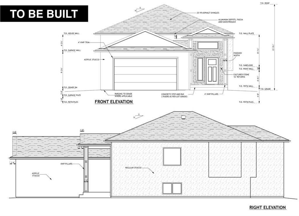 Main Photo: 77 Aberdeen Drive in Niverville: The Highlands Residential for sale (R07)  : MLS®# 202121566