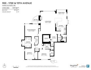 """Photo 29: 900 1788 W 13TH Avenue in Vancouver: Fairview VW Condo for sale in """"MAGNOLIA"""" (Vancouver West)  : MLS®# R2571664"""