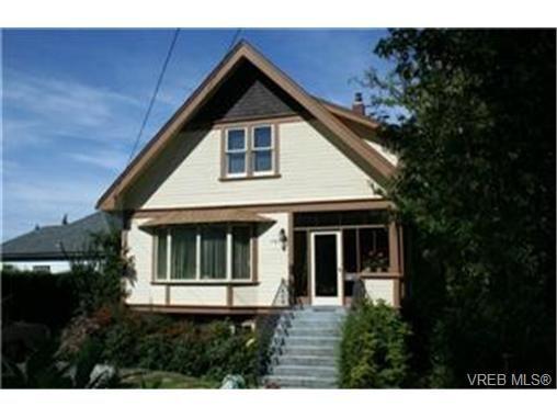 Main Photo:  in VICTORIA: Vi Fernwood House for sale (Victoria)  : MLS®# 450668