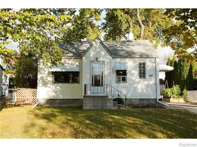 Main Photo: 307 Truro Street in Winnipeg: Deer Lodge Residential for sale (5E)  : MLS®# 1625691