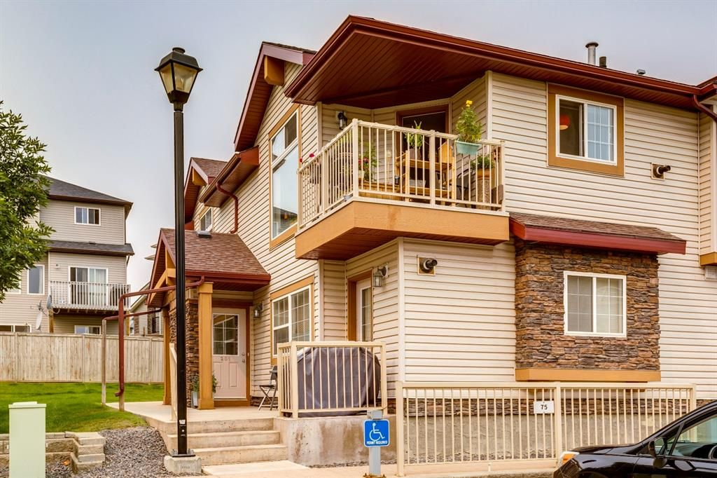 Main Photo: 201 60 Panatella Landing NW in Calgary: Panorama Hills Row/Townhouse for sale : MLS®# A1139164