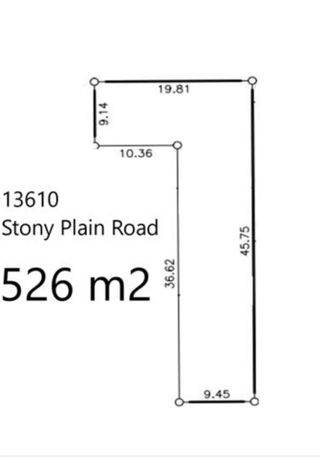 Photo 2: 13610 Stony Plain Road in Edmonton: Zone 11 Vacant Lot for sale : MLS®# E4266118