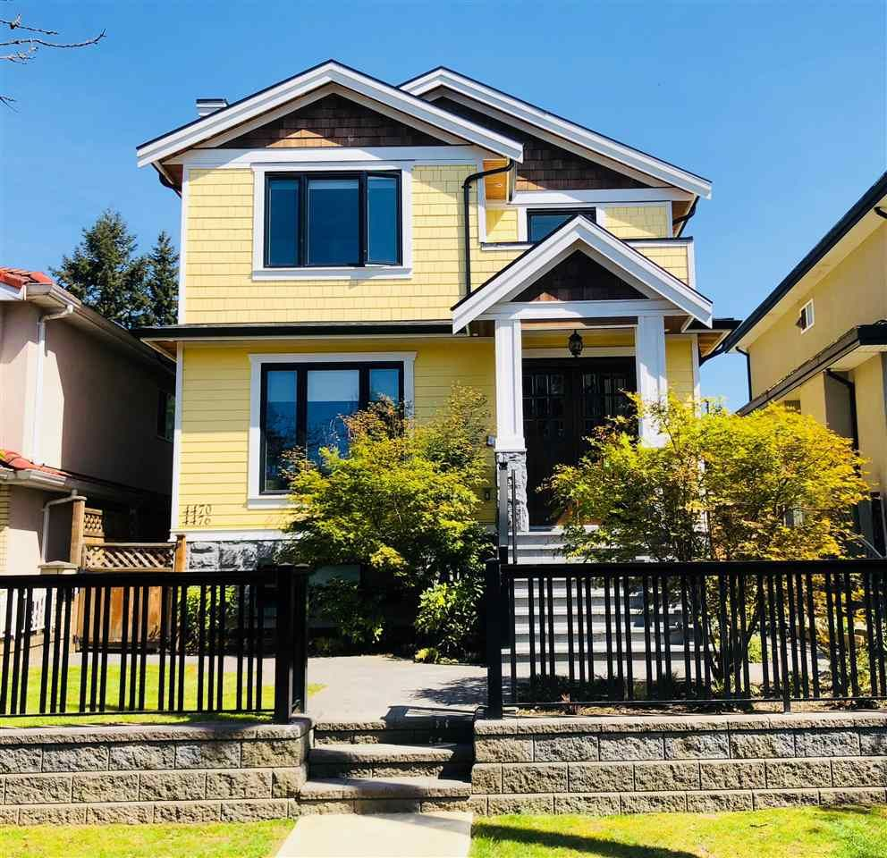 Main Photo: 4478 PRINCE ALBERT Street in Vancouver: Fraser VE House for sale (Vancouver East)  : MLS®# R2438682