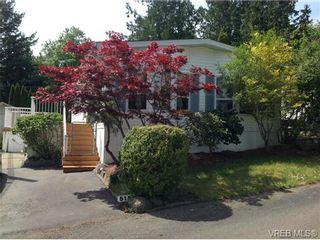 Photo 1: 515 2850 Stautw Rd in SAANICHTON: CS Hawthorne Manufactured Home for sale (Central Saanich)  : MLS®# 702862