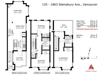 Photo 3: # 135 1863 STAINSBURY AV in Vancouver: Victoria VE Condo for sale (Vancouver East)  : MLS®# V1090916