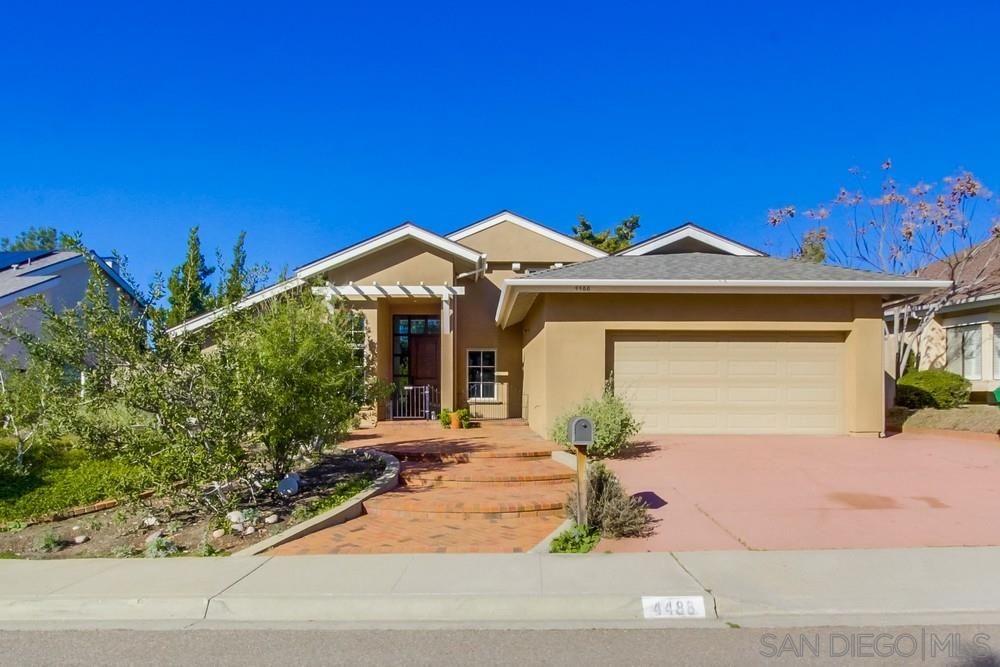 Main Photo: TIERRASANTA House for sale : 4 bedrooms : 4488 Rueda Drive in San Diego