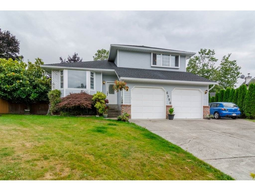 "Main Photo: 6590 CLAYTONWOOD Place in Surrey: Cloverdale BC House for sale in ""CLAYTONWOOD"" (Cloverdale)  : MLS®# R2096224"
