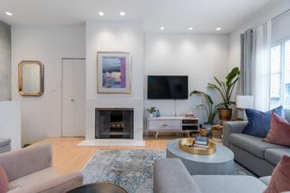 """Photo 1: 819 W 7TH Avenue in Vancouver: Fairview VW Townhouse for sale in """"Ballentyne Square"""" (Vancouver West)  : MLS®# R2620009"""