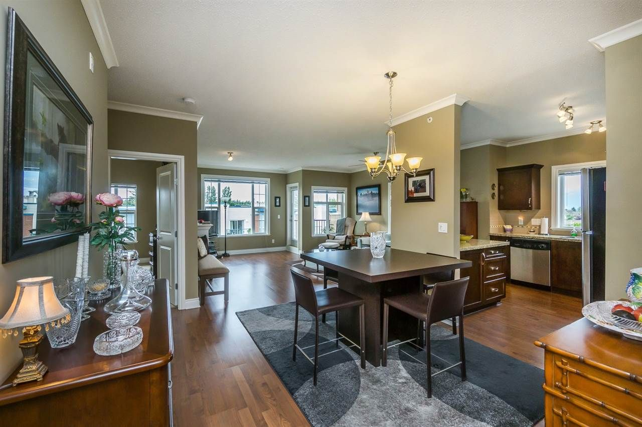Main Photo: 408 20286 53A AVENUE in : Langley City Condo for sale (Langley)  : MLS®# R2079928