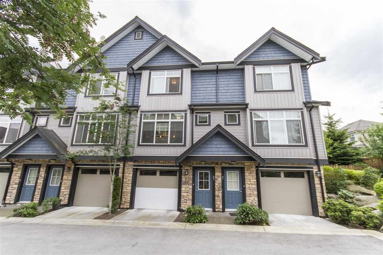Main Photo: 82 6299 144 STREET in Surrey: Sullivan Station Townhouse for sale : MLS®# R2071703