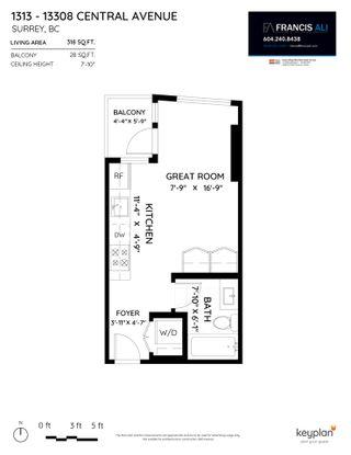 "Photo 17: 1313 13308 CENTRAL Avenue in Surrey: Whalley Condo for sale in ""EVOLVE"" (North Surrey)  : MLS®# R2539122"