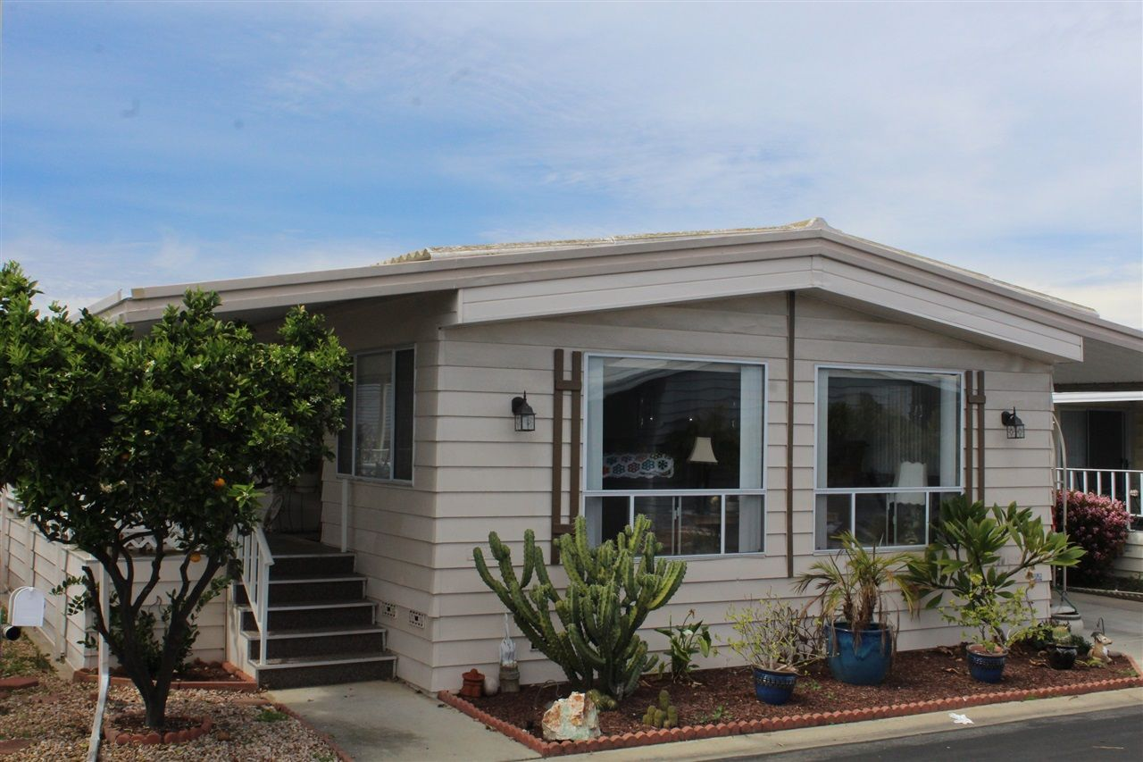 Main Photo: CARLSBAD WEST Manufactured Home for sale : 2 bedrooms : 7117 Santa Barbara #108 in Carlsbad