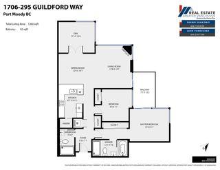 """Photo 34: 1706 295 GUILDFORD Way in Port Moody: North Shore Pt Moody Condo for sale in """"BENTLEY"""" : MLS®# R2591118"""