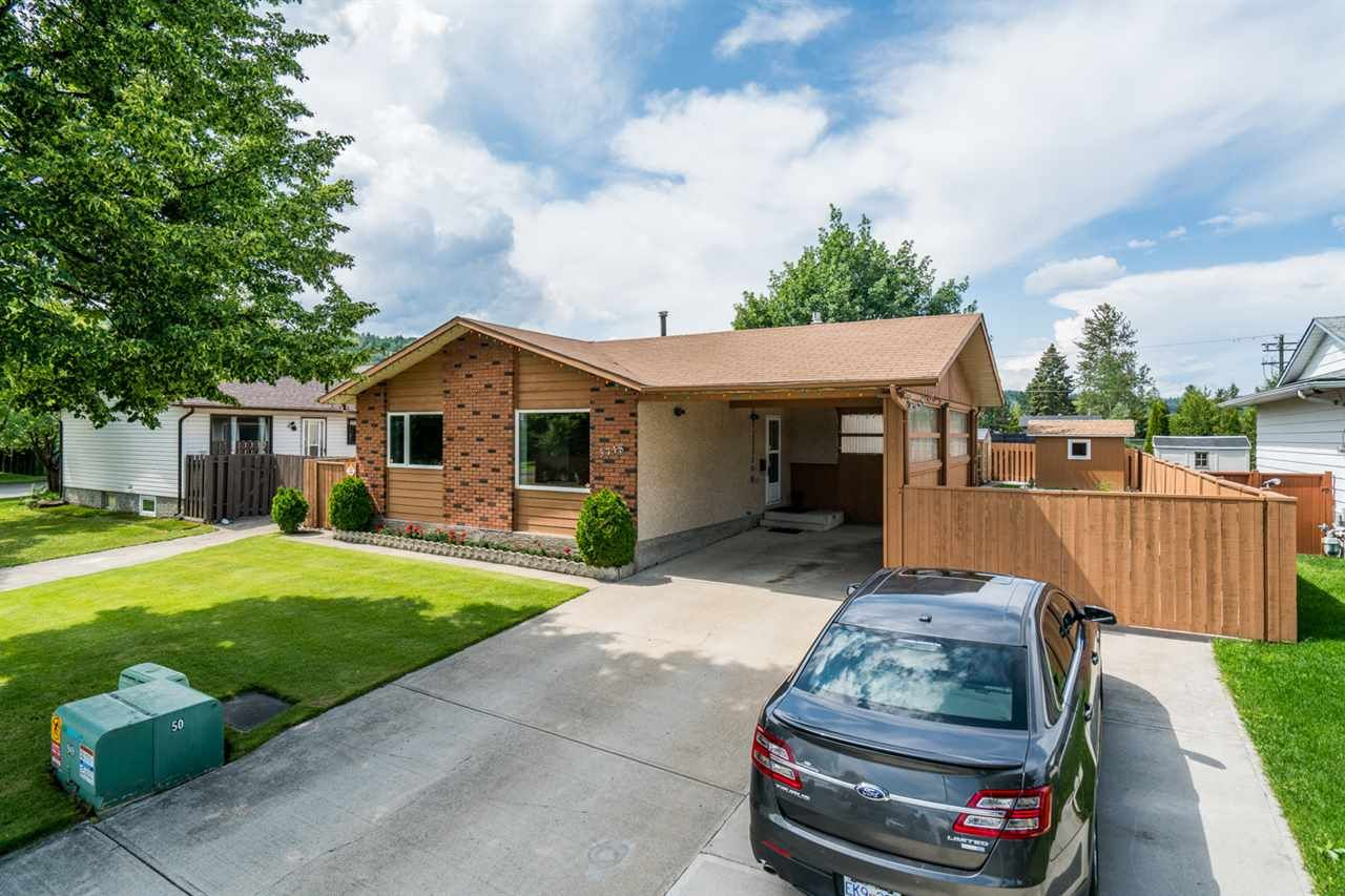 Main Photo: 3718 DOKNICK Place in Prince George: Pinecone House for sale (PG City West (Zone 71))  : MLS®# R2385402