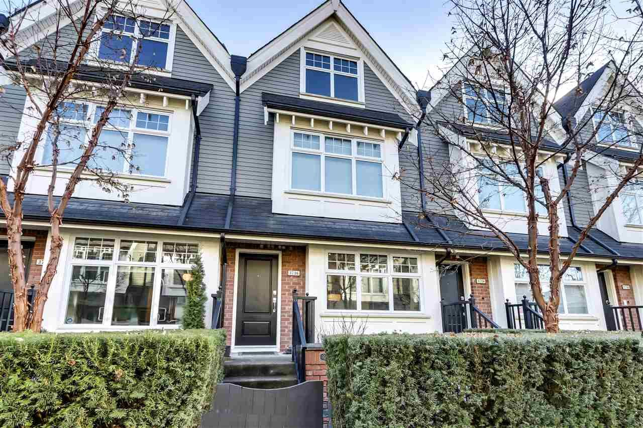 Main Photo: 3736 WELWYN STREET in Vancouver: Victoria VE Townhouse for sale (Vancouver East)  : MLS®# R2544407