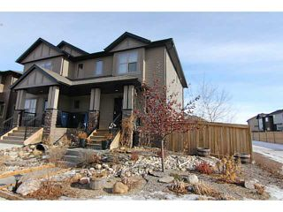 Photo 1: 254 CHAPARRAL VALLEY Drive SE in CALGARY: C-285 Residential Attached for sale (Calgary)  : MLS®# C3554170