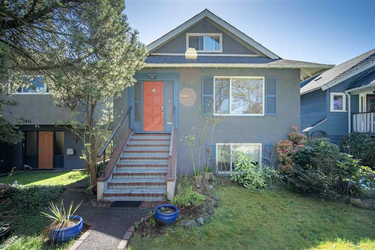 Main Photo: 2820 W 11TH Avenue in Vancouver: Kitsilano House for sale (Vancouver West)  : MLS®# R2570556