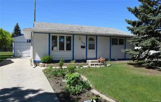 Photo 1: 103 Mutchmor Close in Winnipeg: Valley Gardens Residential for sale (3E)  : MLS®# 1815096