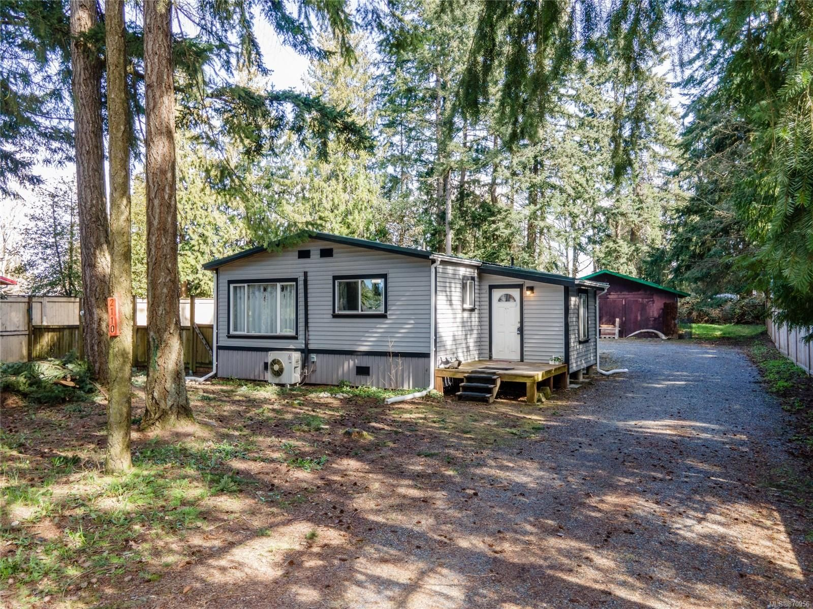 Main Photo: 2110 Yellow Point Rd in : Na Cedar Manufactured Home for sale (Nanaimo)  : MLS®# 870956
