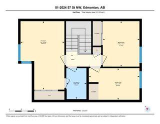 Photo 44: 81 2024 57 Street in Edmonton: Zone 29 Townhouse for sale : MLS®# E4254801