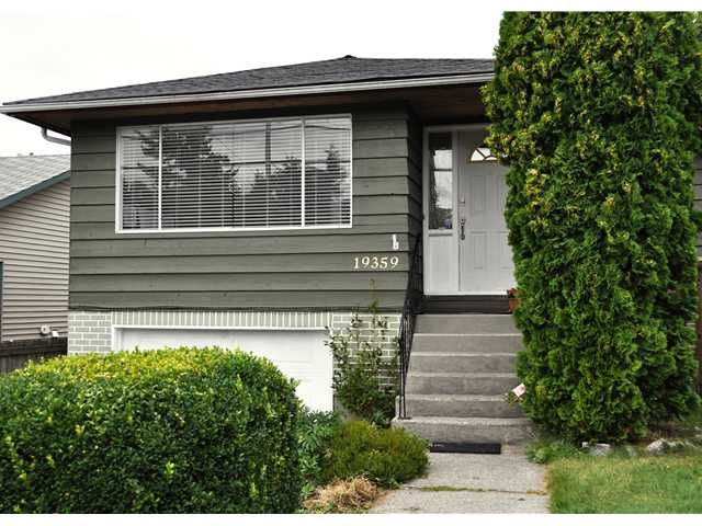 Main Photo: 19359 HAMMOND RD in Pitt Meadows: Central Meadows House for sale : MLS®# V904549