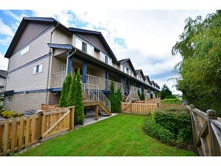 """Photo 11: 6 1268 RIVERSIDE Drive in Port Coquitlam: Riverwood Townhouse for sale in """"SOMERSTON LANE"""" : MLS®# V1012744"""