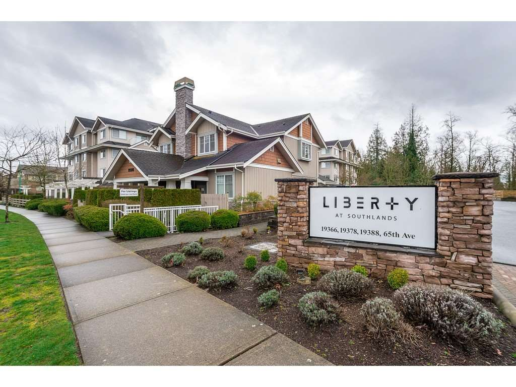 "Main Photo: 203 19388 65 Avenue in Surrey: Clayton Condo for sale in ""Liberty"" (Cloverdale)  : MLS®# R2465978"