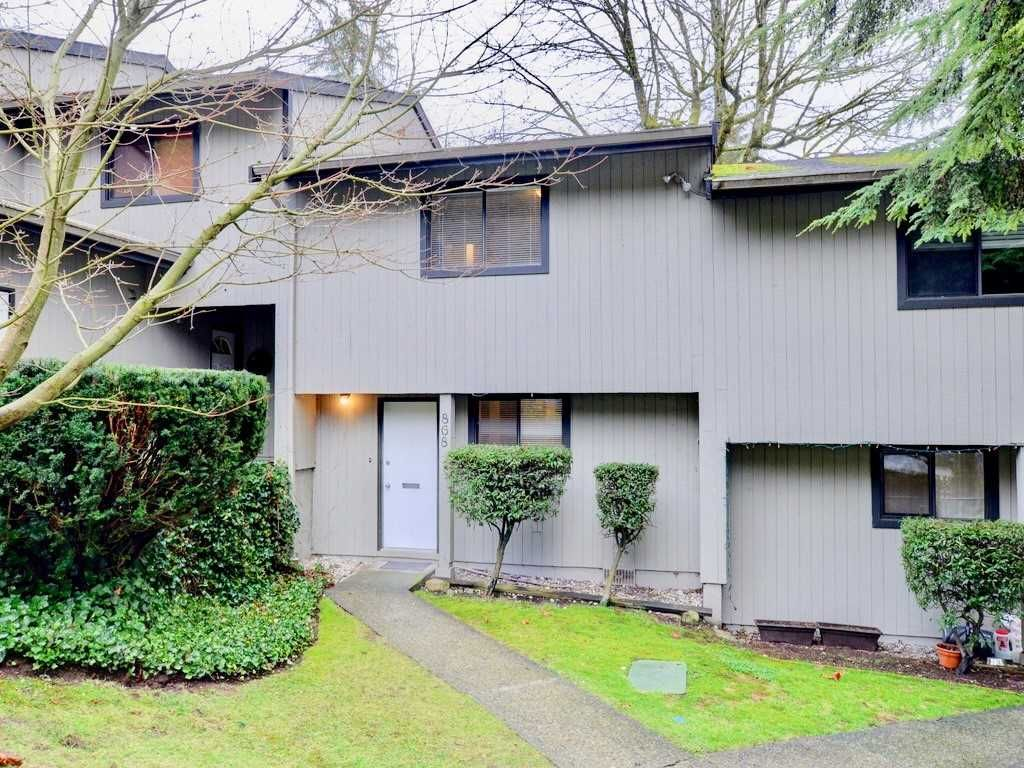"""Main Photo: 868 BLACKSTOCK Road in Port Moody: North Shore Pt Moody Townhouse for sale in """"WOODSIDE VILLAGE"""" : MLS®# R2232669"""